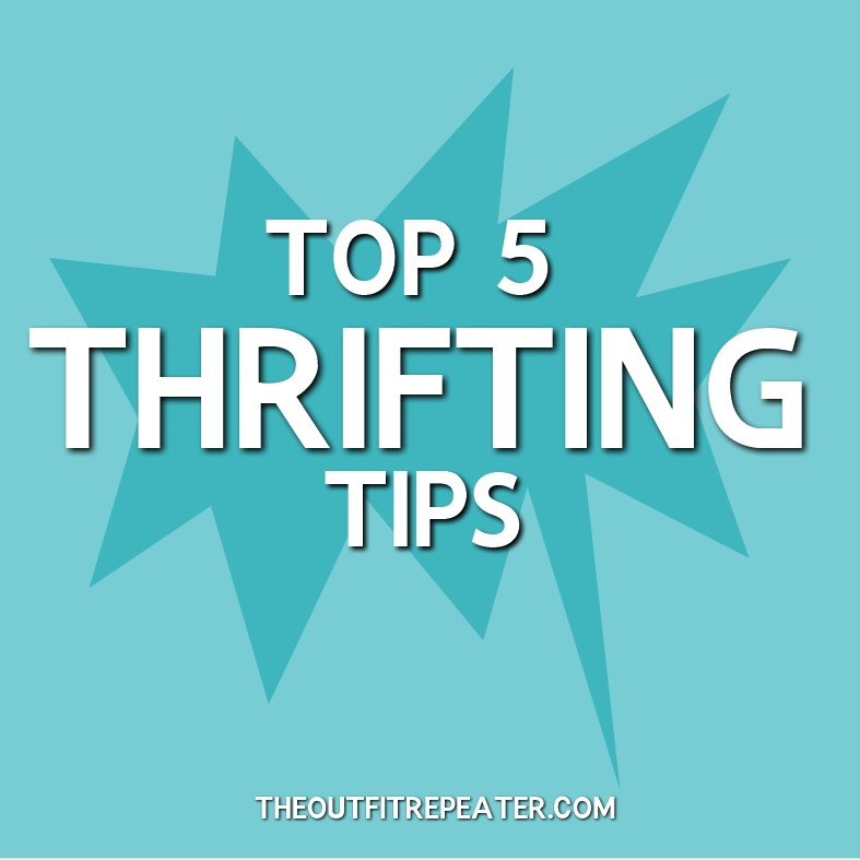 thrifting tips secondhand shopping thrift store advice
