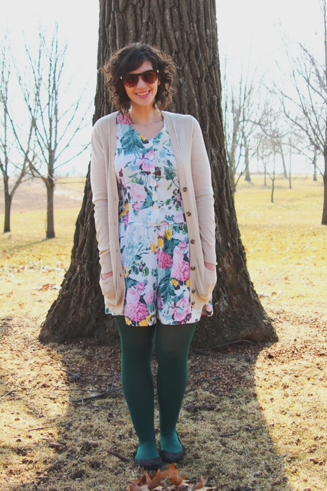 A St. Patrick's Day Outfit With a Wee Bit O' Green