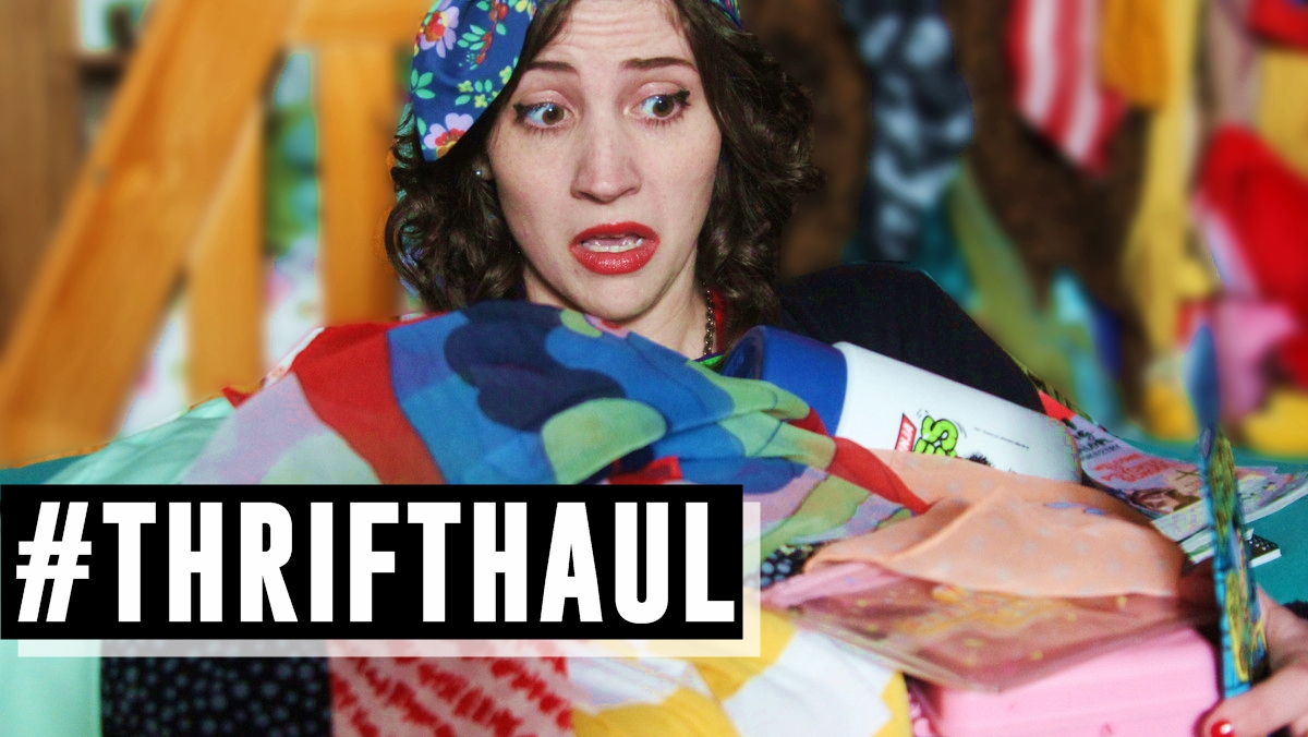 April Monthly Thrift Haul | Video