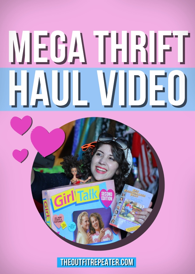 Mega March 2015 Thrift Haul Video | The Outfit Repeater