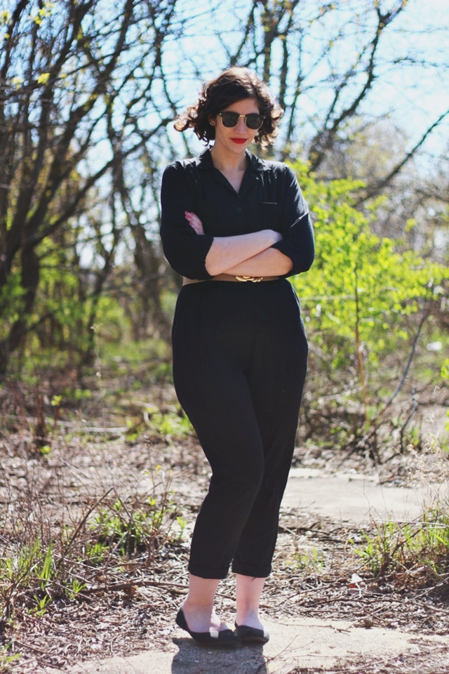 The 1980s Jumpsuit | Outfit
