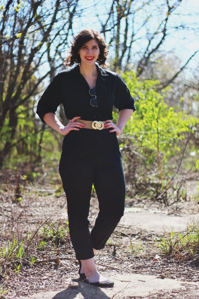 hannah rupp the outfit repeater 1980s vintage jumpsuit