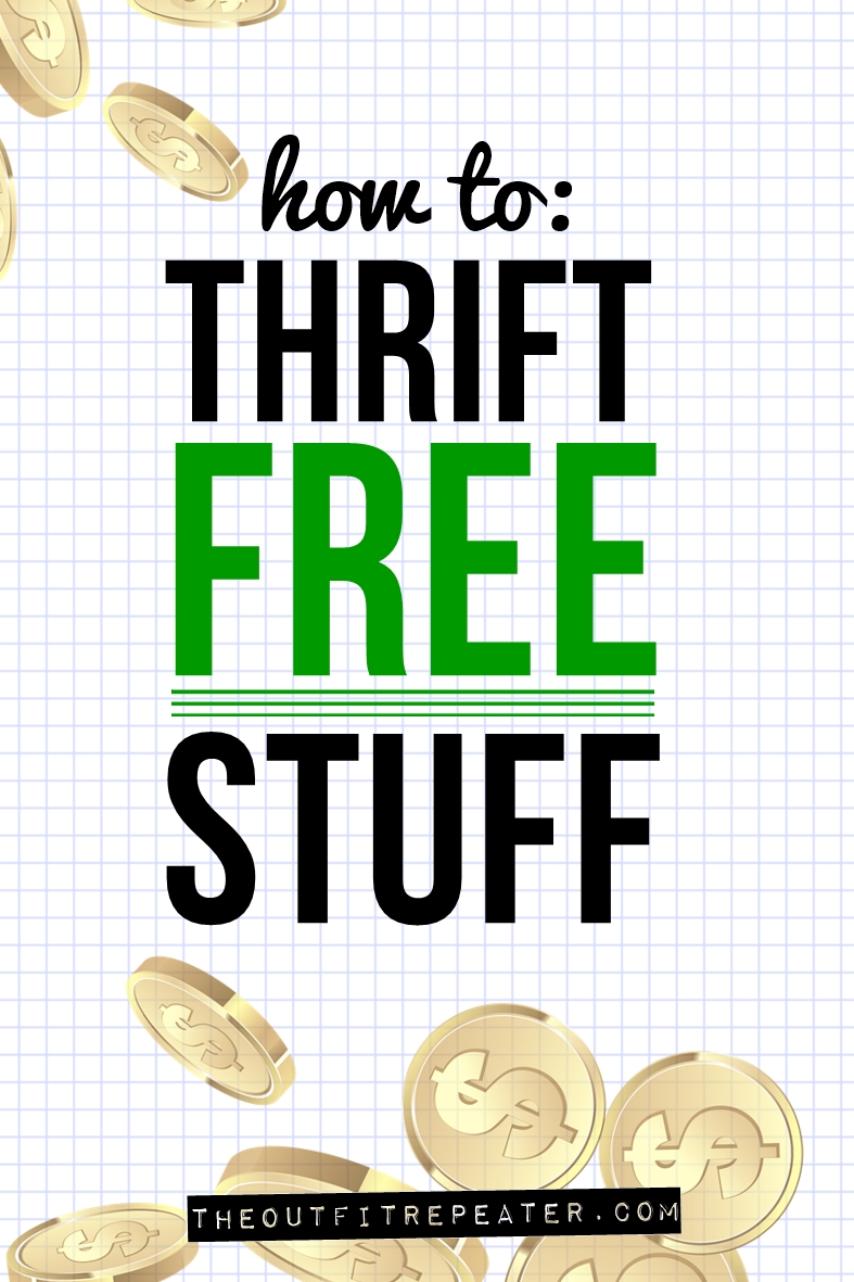 Where to Find Free Clothes + Thrift Haul Video!