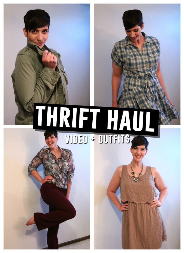 May 2015 Monthly Thrift Haul Video | The Outfit Repeater