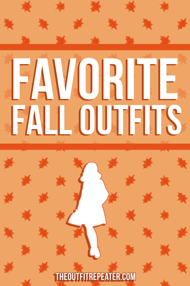 Favorite Fall Outfits of The Past