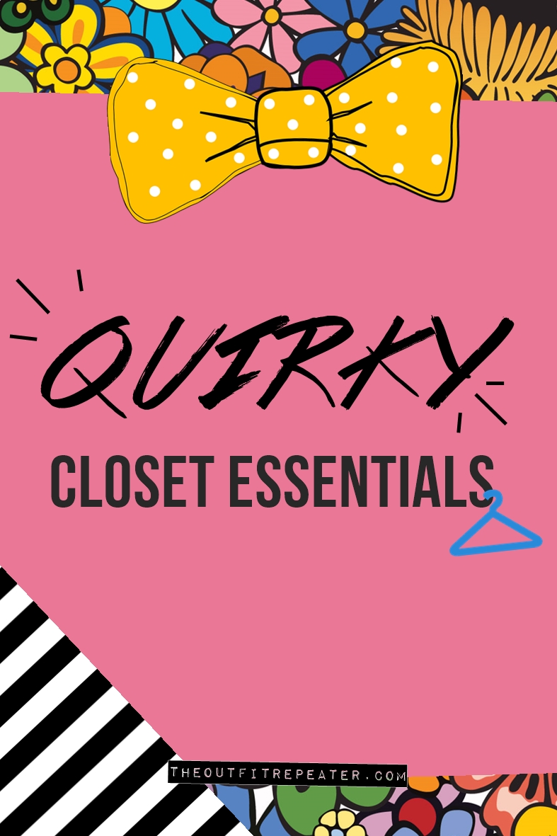 """5 """"Basic"""" Pieces All Quirky Girls Should Have In Their Closets"""