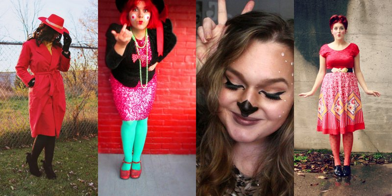 How We Wore It: Halloween Costumes | New Post On Shaped By Style