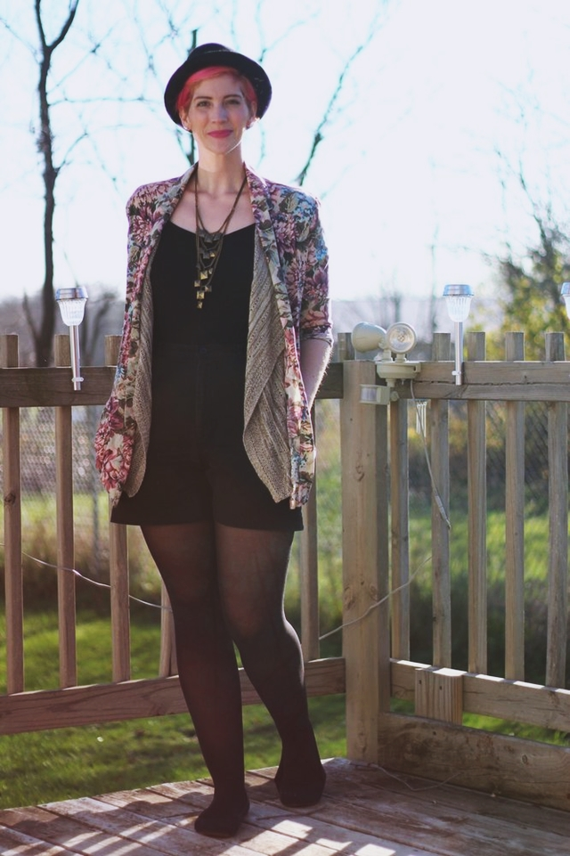 Beige Waterfall Cardigan For Fall | New Post on Shaped By Style