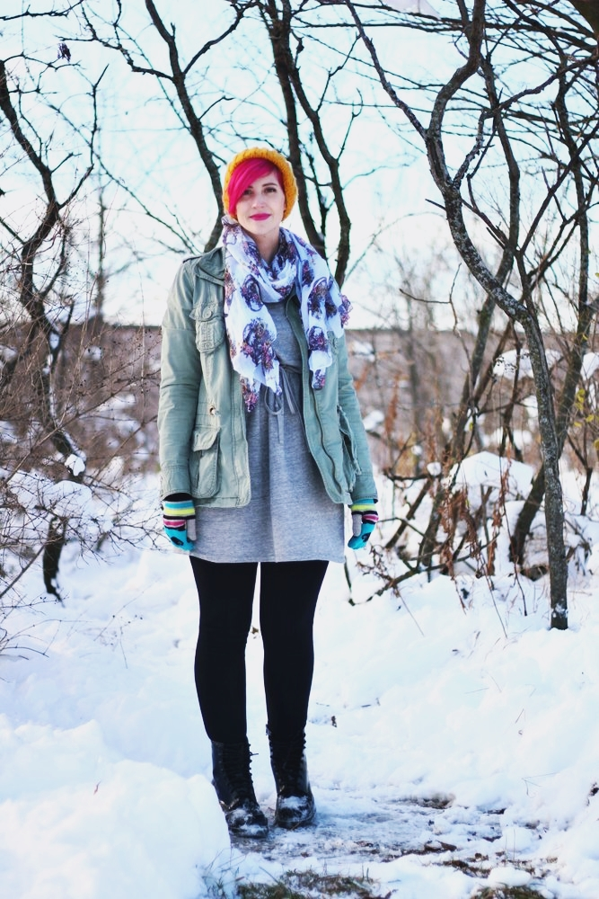 Color Meets Winter Wear