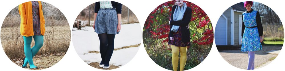 How To Wear: Colored Tights