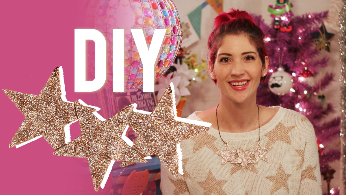 DIY Star Necklace Tutorial + Video
