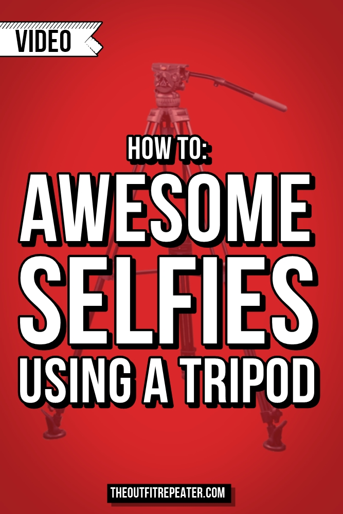 Awesome Selfie Tips Using a Tripod | Video