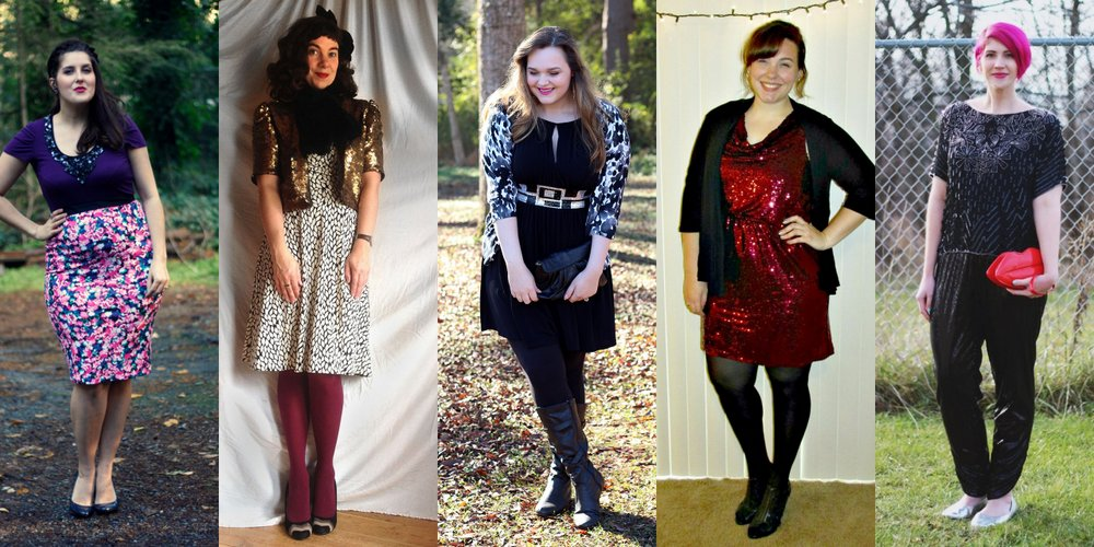 How We Wore It: Sequins | New Post on Shaped By Style