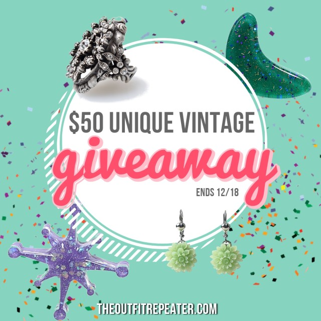 Win a $50 GC to Unique Vintage!