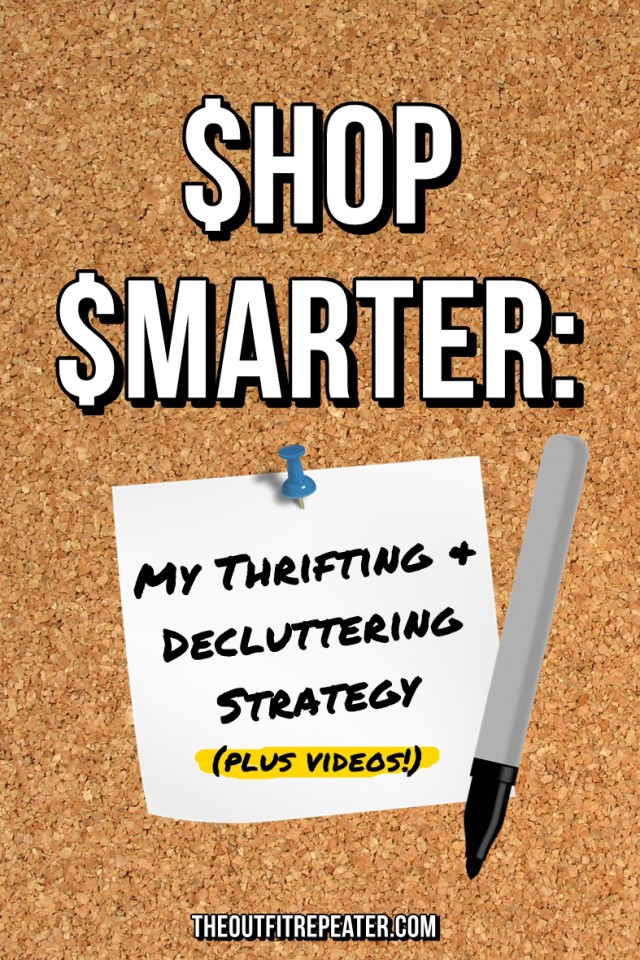 I'm giving away all my thrifting & cleaning secrets to help you shop smarter and regret less purchases.