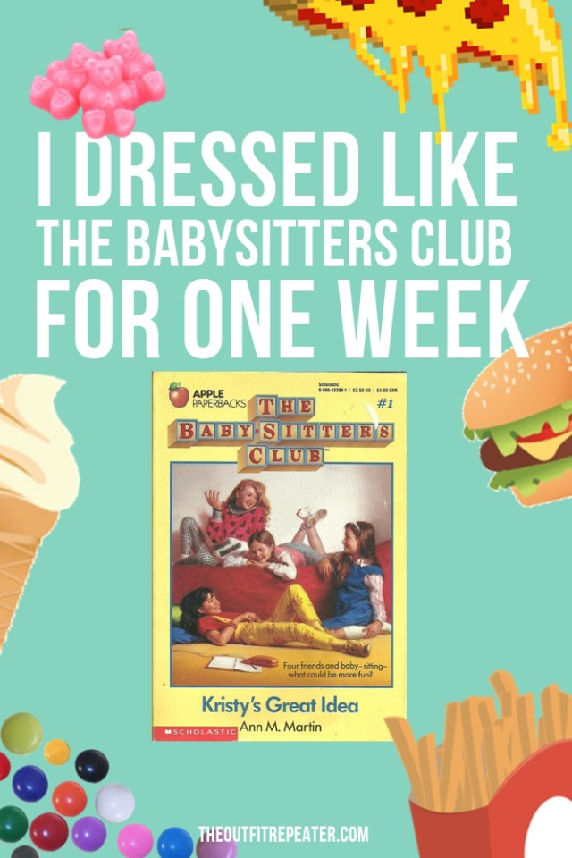 This is what happened when I dressed like each member of The Babysitters Club for a week.