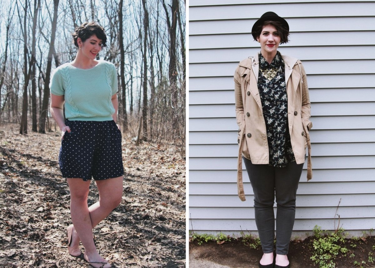 Spring style outfit inspiration navy blue