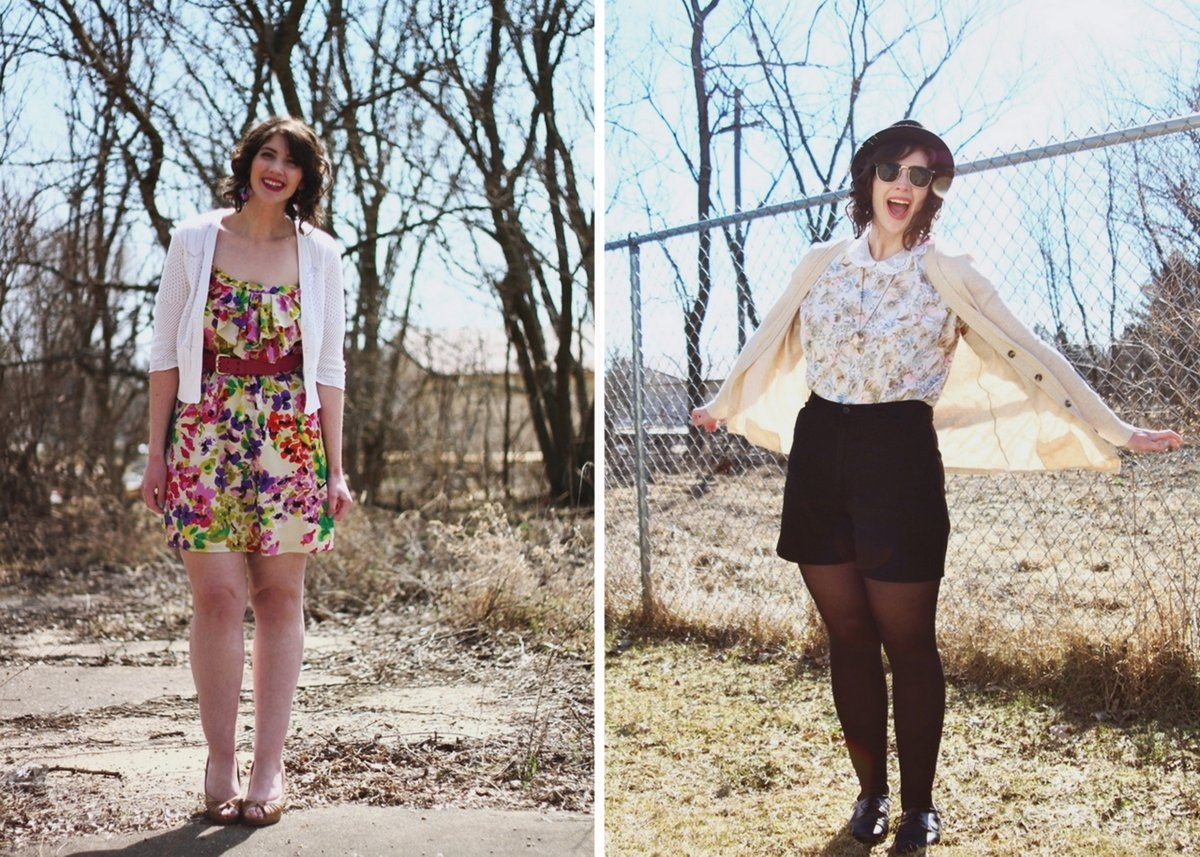 Spring style outfit inspiration floral feminine and preppy