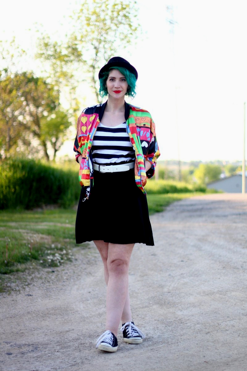 A Colorful Bomber Jacket + Tips For Wearing Statement Clothes
