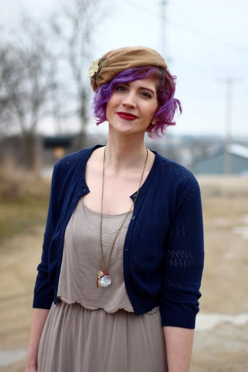Vintage Vibes and a Deceptive Headband | New Post On Shaped By Style