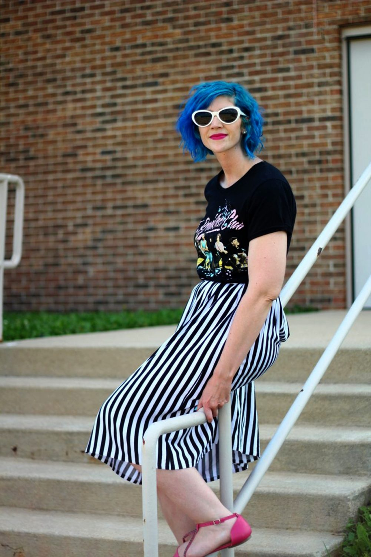 Getting Schooled in Wearing Stripes