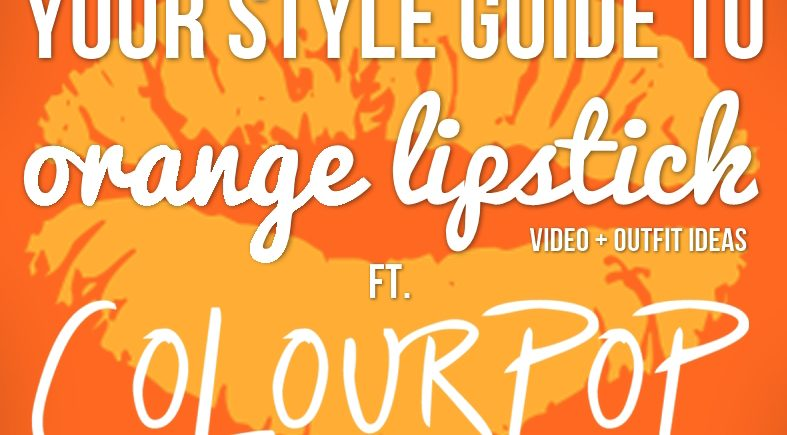 fall-makeup-trends-orange-lipstick-colourpop