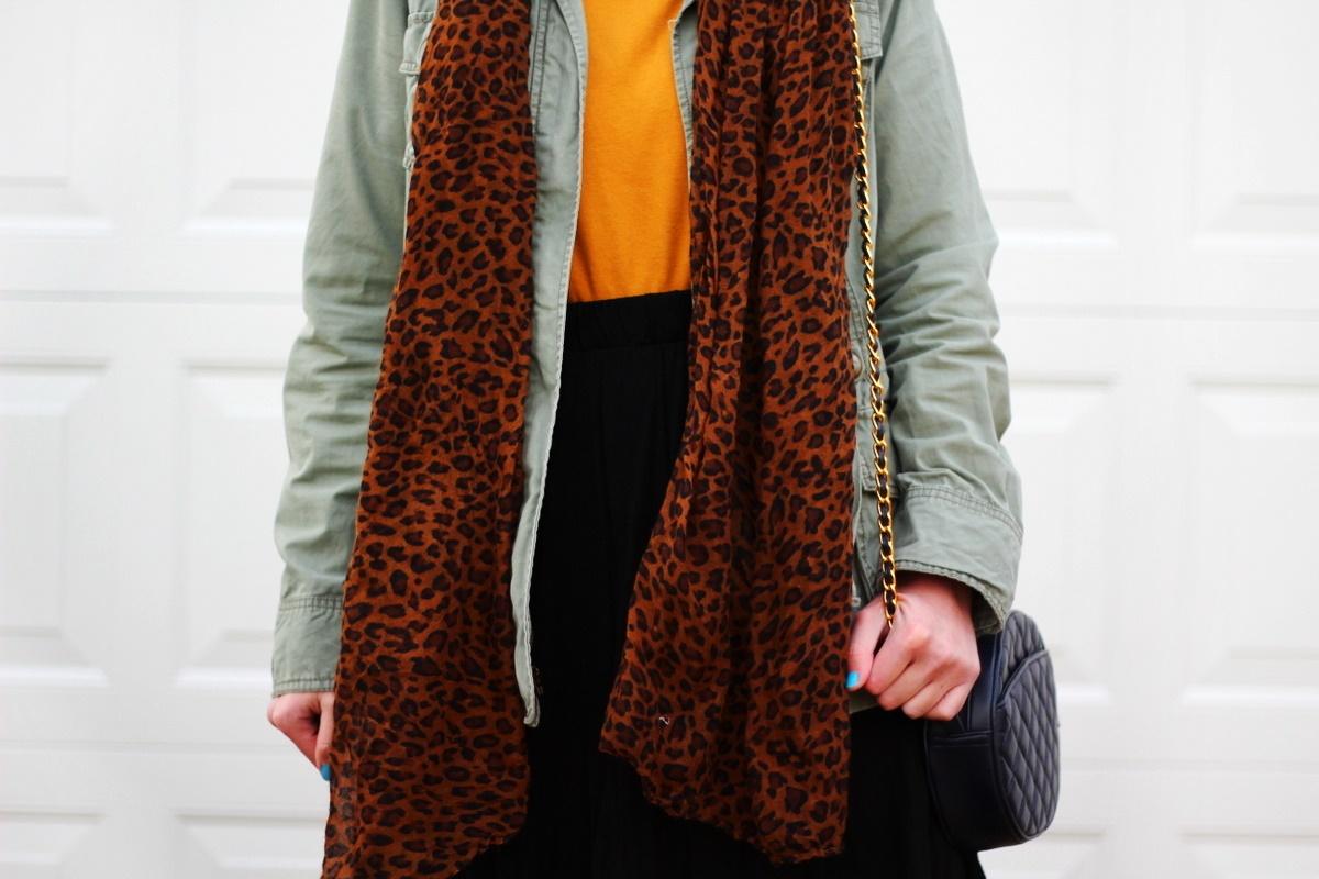 Back To Basics: Turtleneck Sweater & Utility Jacket