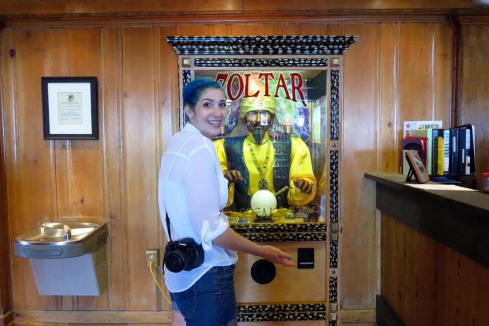 best of 2016 rewind hannah rupp vacation 1980s zoltar machine future predition