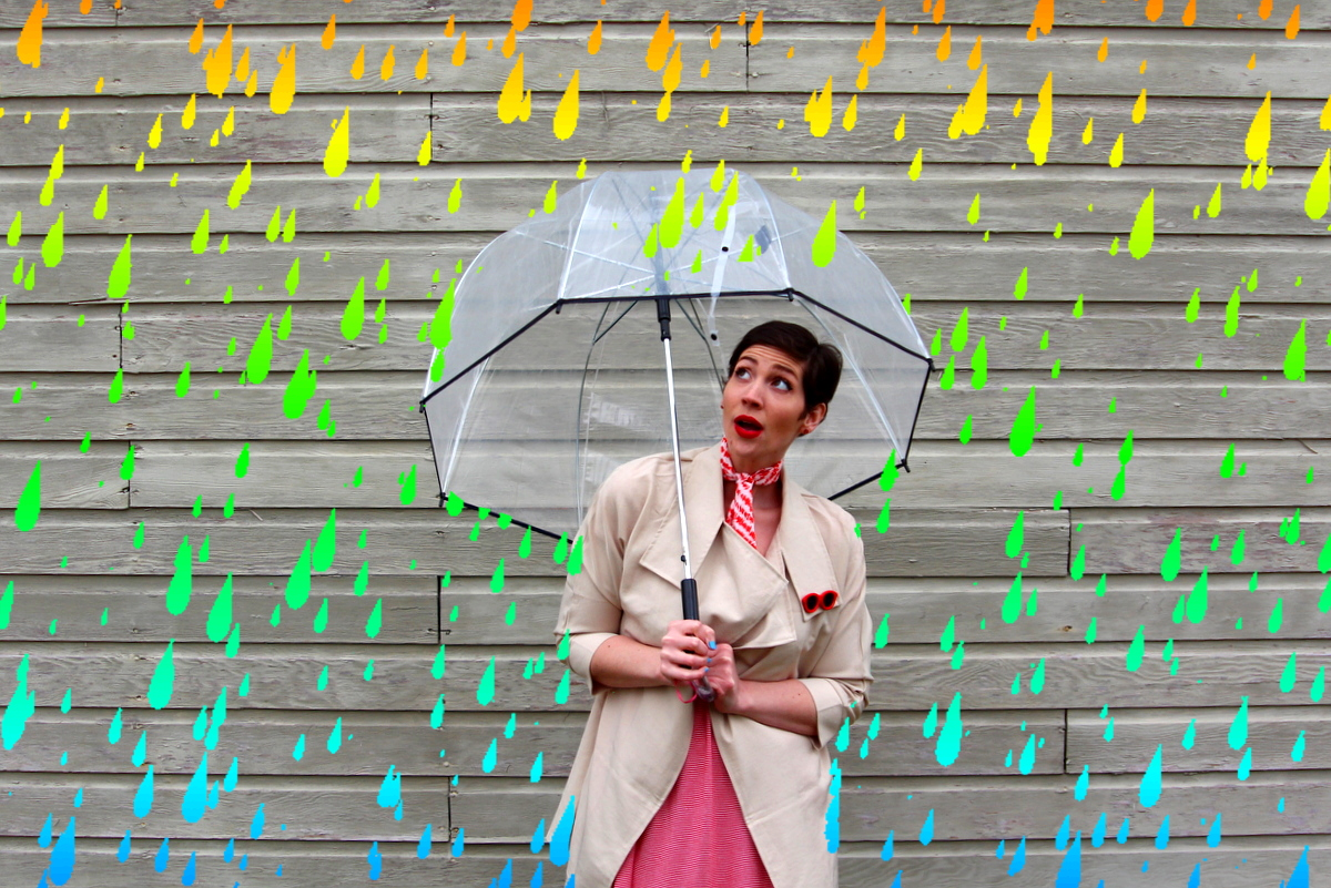 What To Wear For April Showers