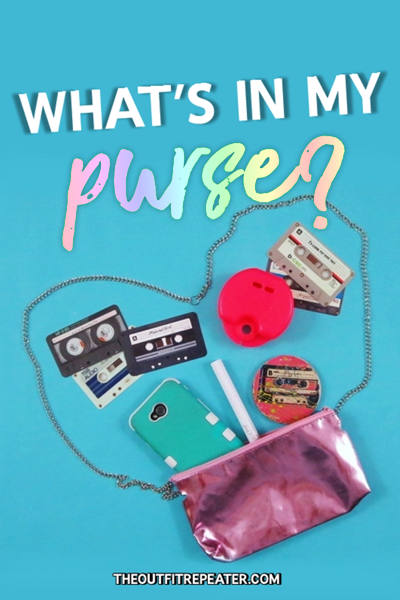 What's In My Purse?: DIY Edition