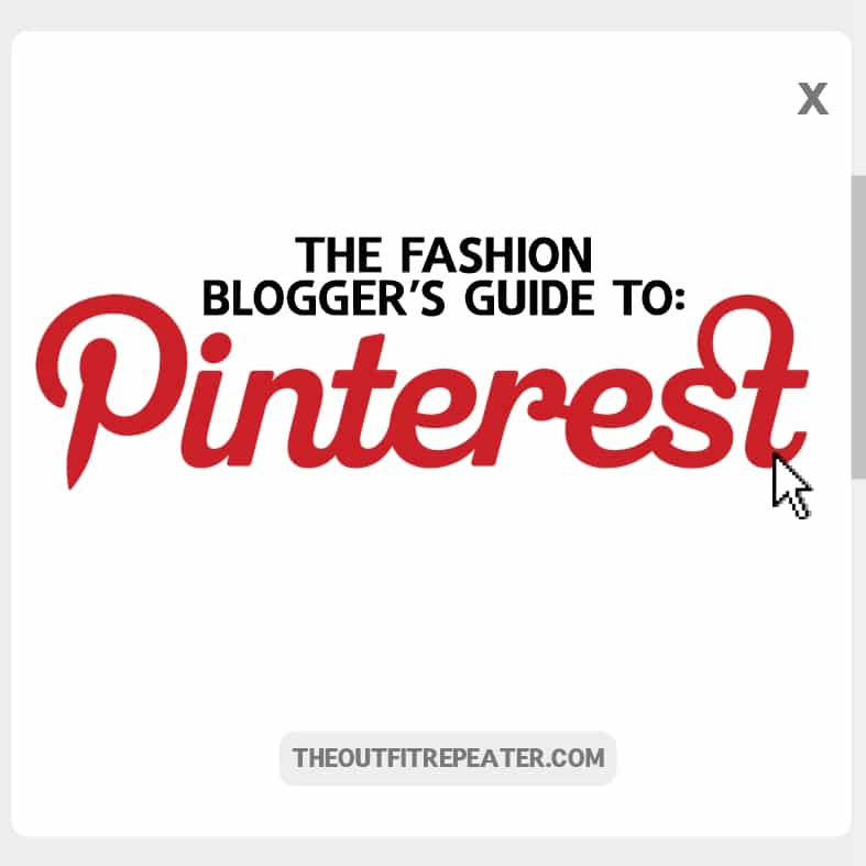 The Fashion Bloggers Guide To Using Pinterest
