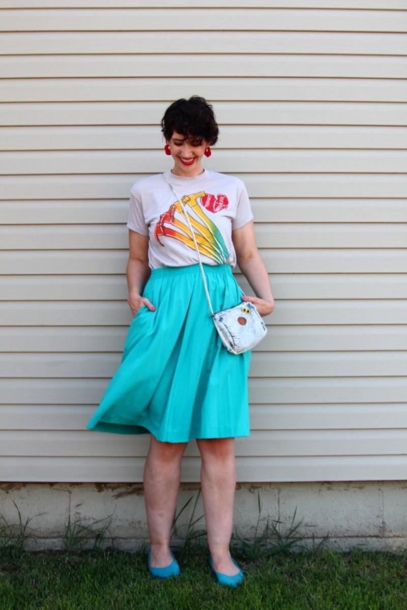 Vintage Fashion Goals #LiveFromThe80s
