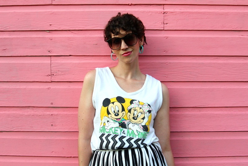 A Minnie (and Mickey) 1980s Outfit Post | #LiveFromThe80s