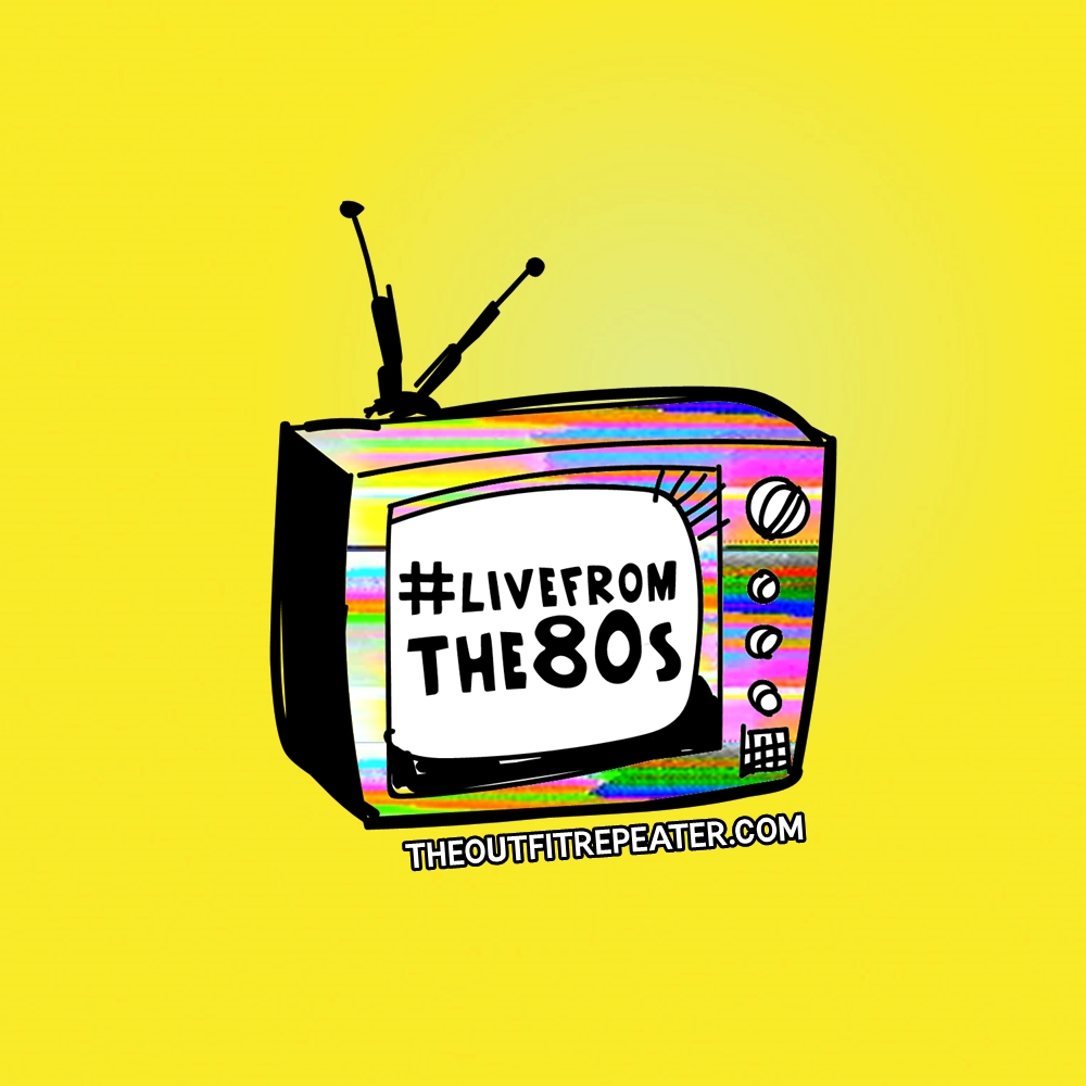 #LiveFromThe80s is a week long interactive event hosted by Hannah Rupp of The Outfit Repeater. The line-up includes live videos, daily challenges, and fun activities for 1980s lovers everywhere.