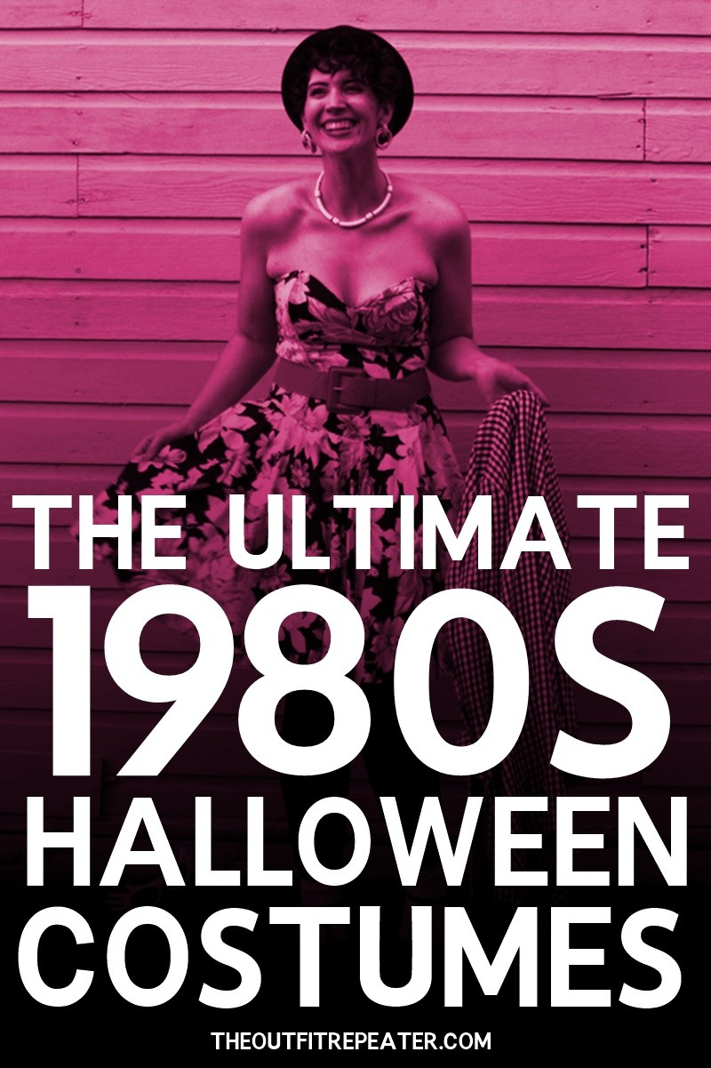 the outfit repeater hannah rupp thrifted vintage 1980s halloween costume inspiration ideas
