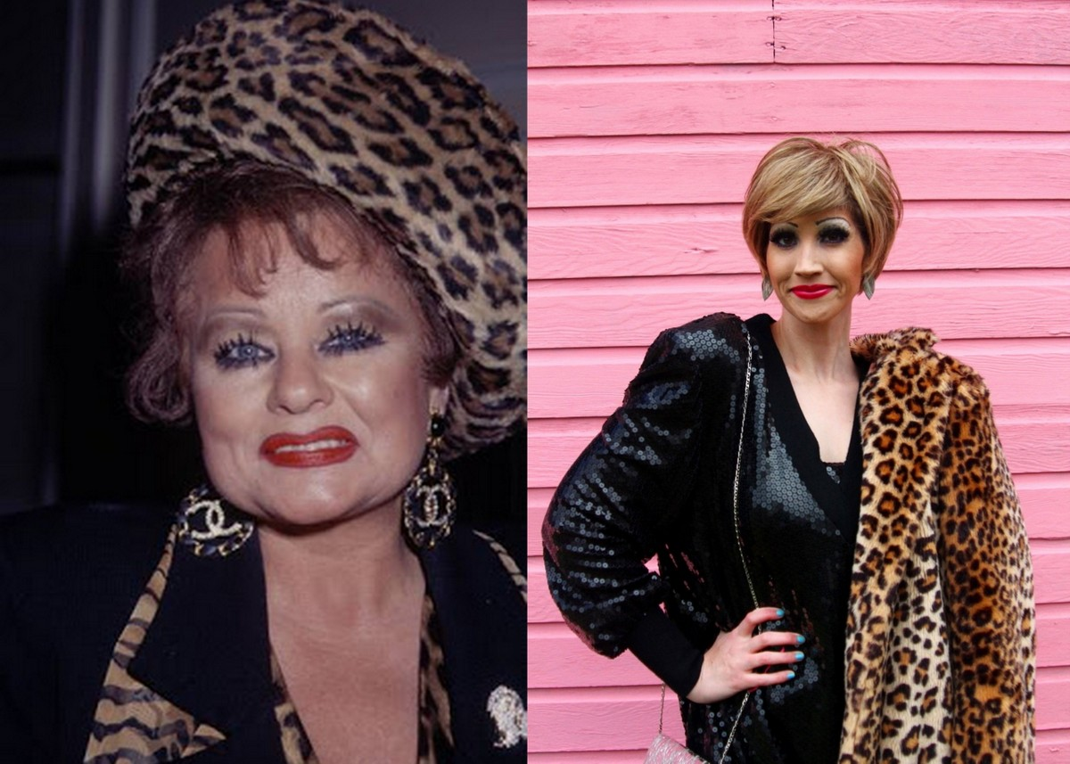 My Transformation Into A 1980s Icon: Tammy Faye Bakker Halloween Costume
