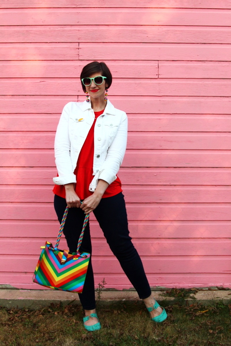 Dressing Like a Rainbow is Always in Style