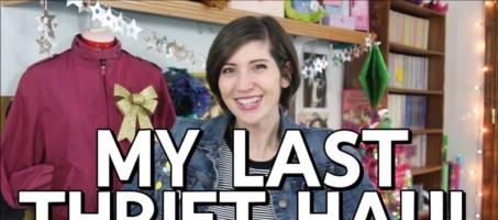 My Last Thrift Haul of 2017
