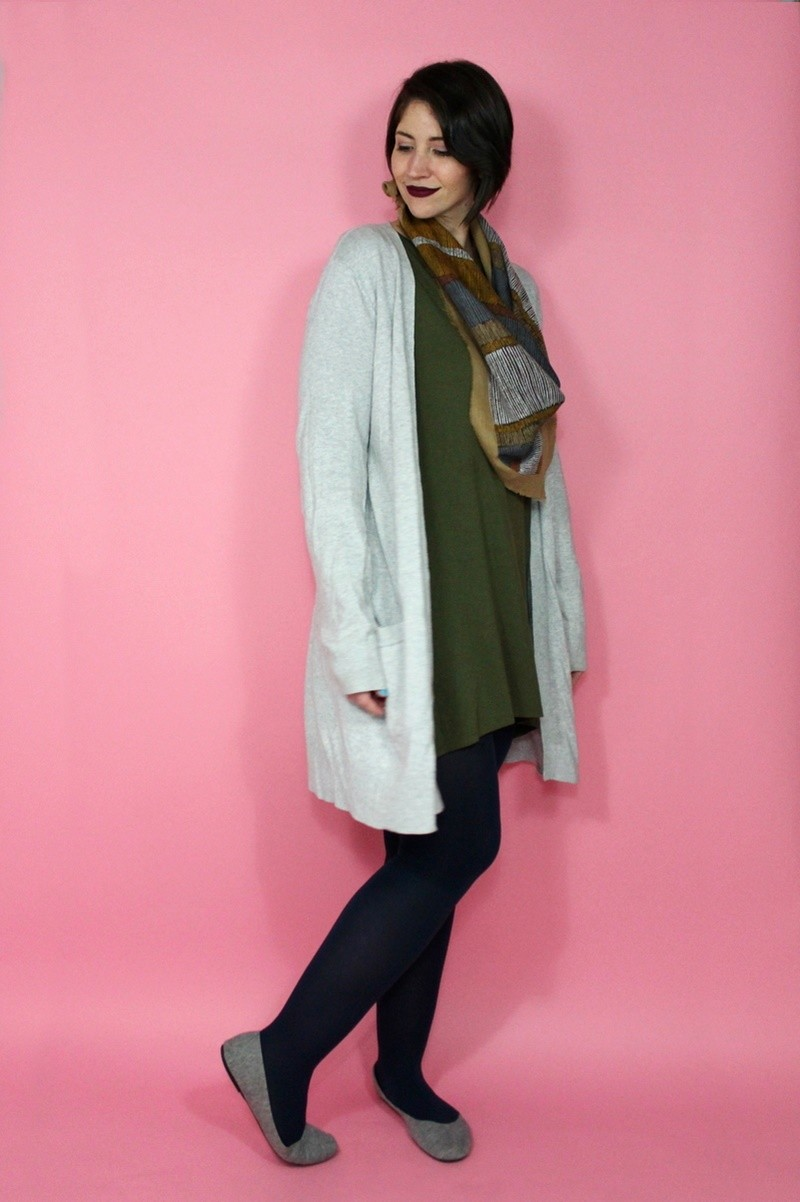 Winter Capsule Wardrobe Challenge hannah rupp the outfit repeater vintage thrifted cute