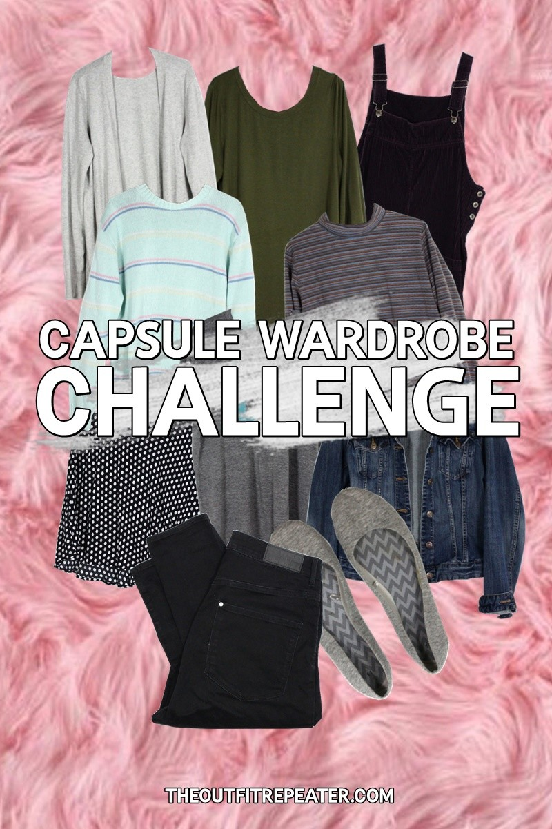 the outfit repeater hannah rupp Winter Capsule Wardrobe Challenge
