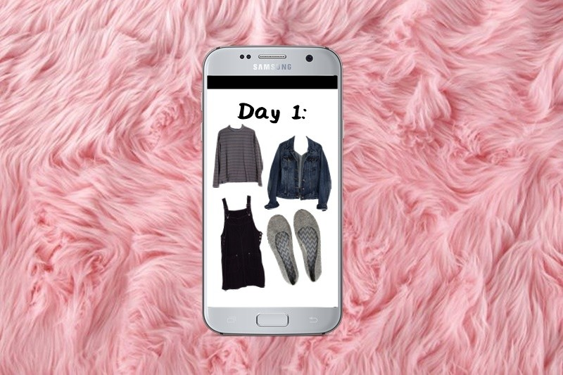 Winter Capsule Wardrobe Challenge: Day 1