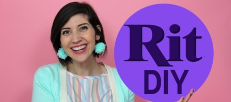 How To Update An Old Fashion Trend w/ Rit Dye