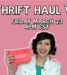 LIVE Thrift Haul Video!