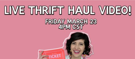 LIVE Thrift Haul Video!
