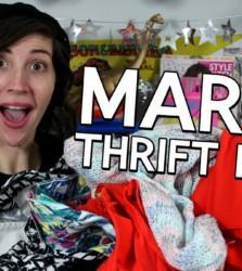 March Thrift Haul + Mini Lookbook + April Thrifting Wishlist!