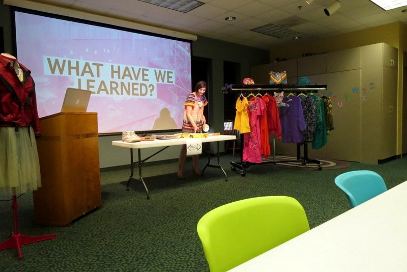hannah rupp the outfit repeater thrift blog monroe public library program