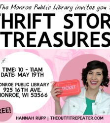 Locals: I'm Hosting a Free Thrifting Event on May 19th & You're Invited!