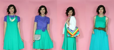 A Colorful Summer Capsule Wardrobe | 10 Pieces, Countless Outfits