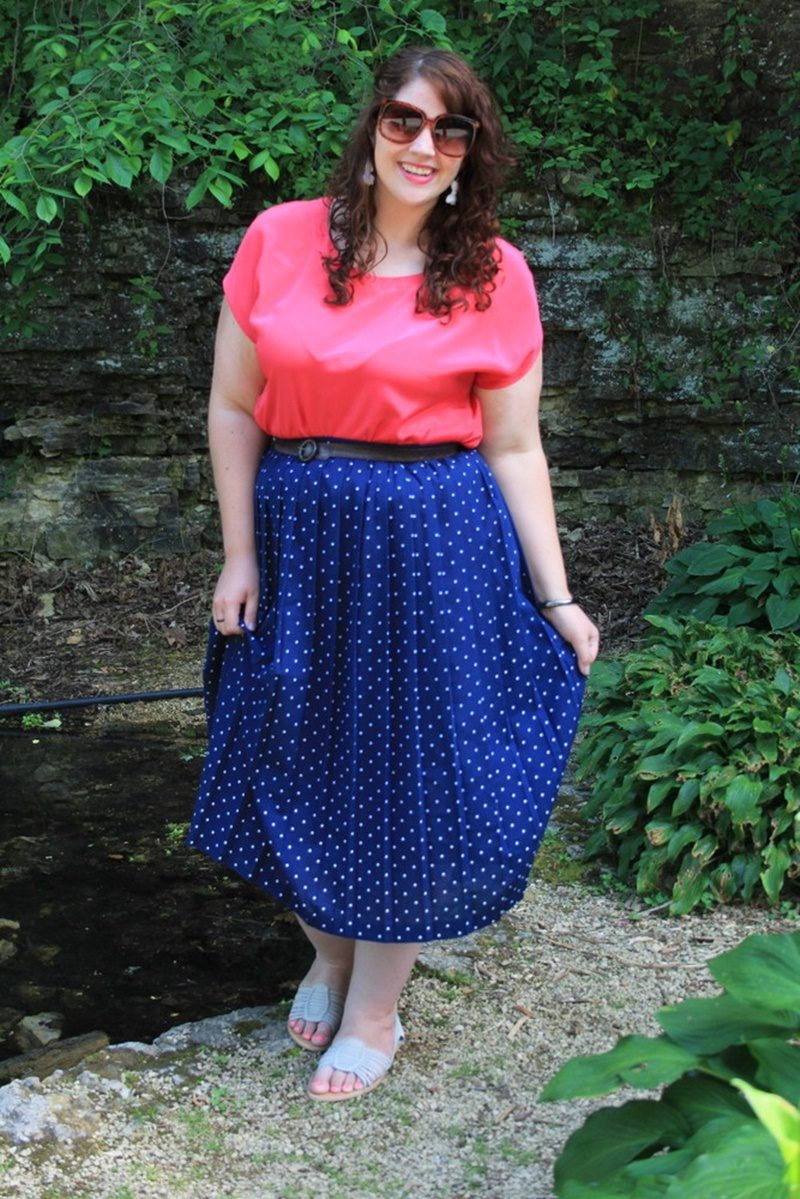 plus size thrifting tips hannah rupp the outfit repeater shopping advice