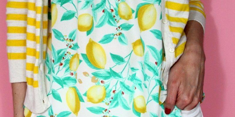 When Life Gives You a Lemon Print Shirt…